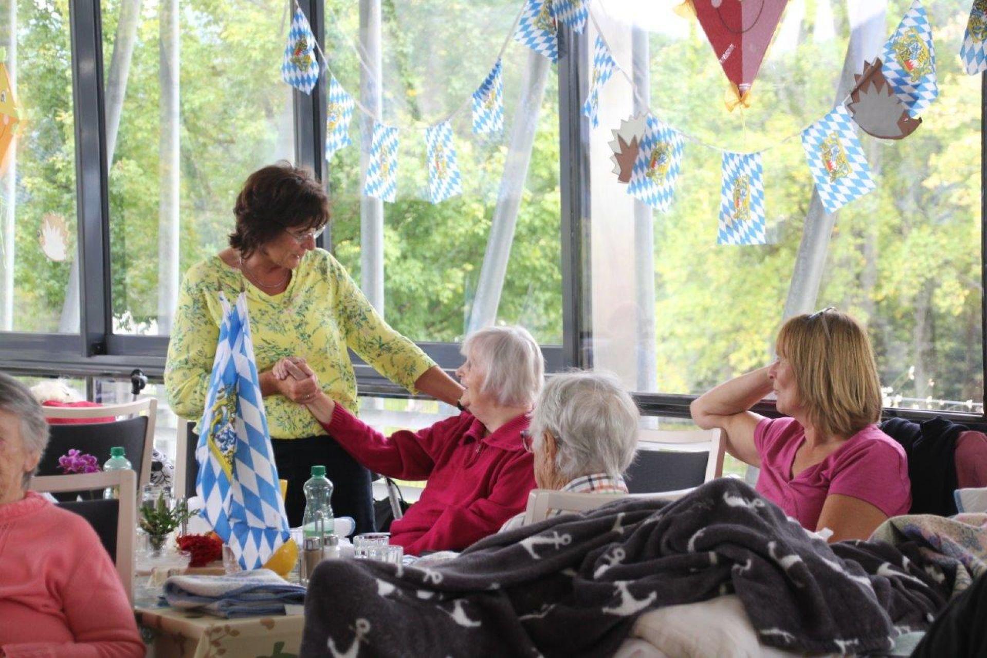 Oktoberfest mit Pensionierungsfeier von Gabi Eckmann