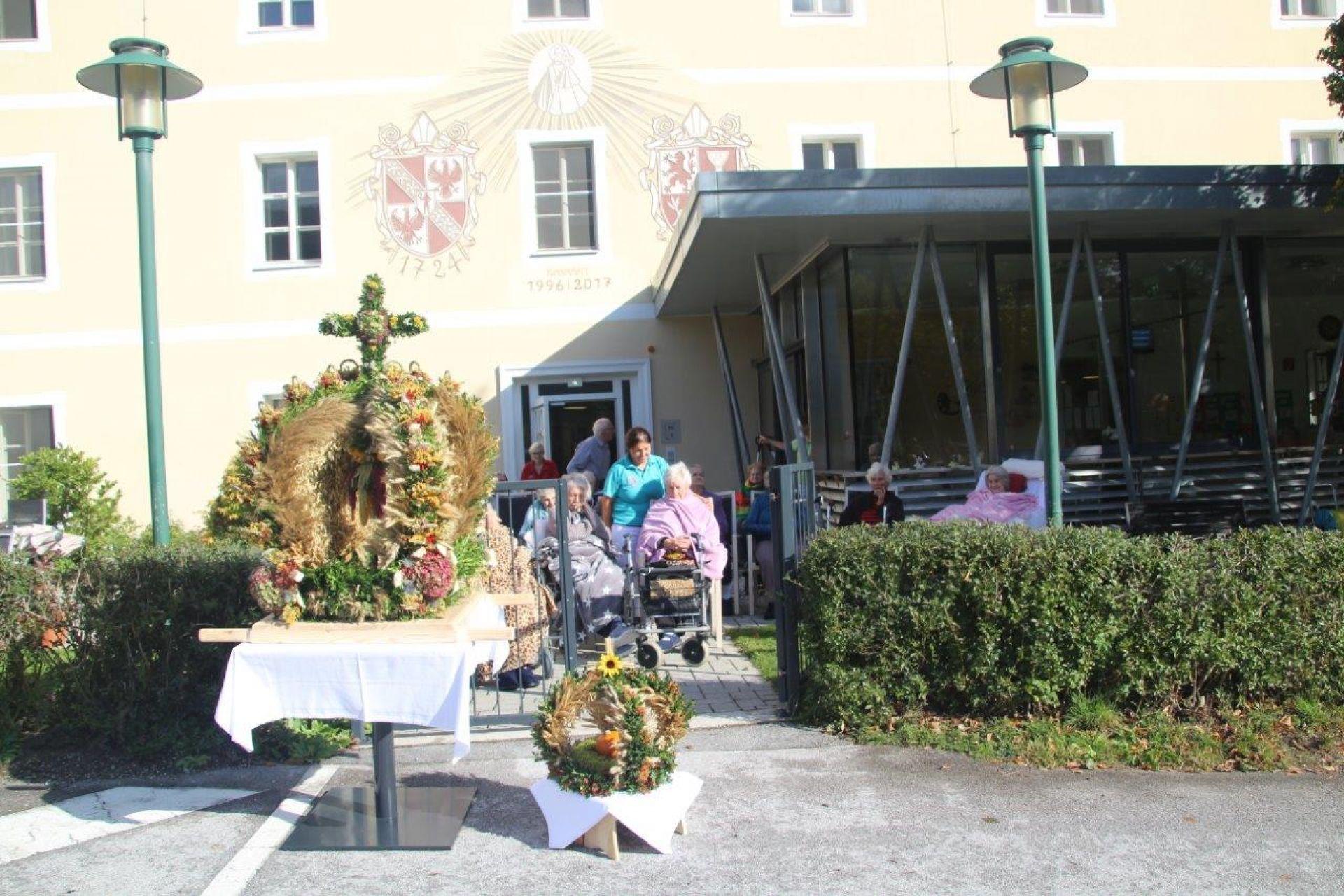 Erntedankfeier in Frauenberg